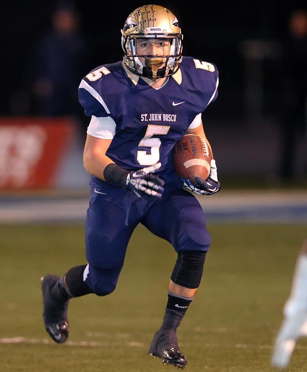 Bosco sophomore running back Sean McGrew had never rushed for more than 200 yards in a game before Saturday.