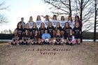 Austin Maroons Girls Varsity Soccer Winter 17-18 team photo.